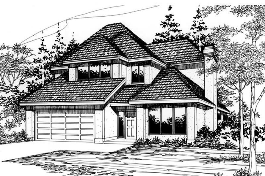 Main image for house plan # 2655