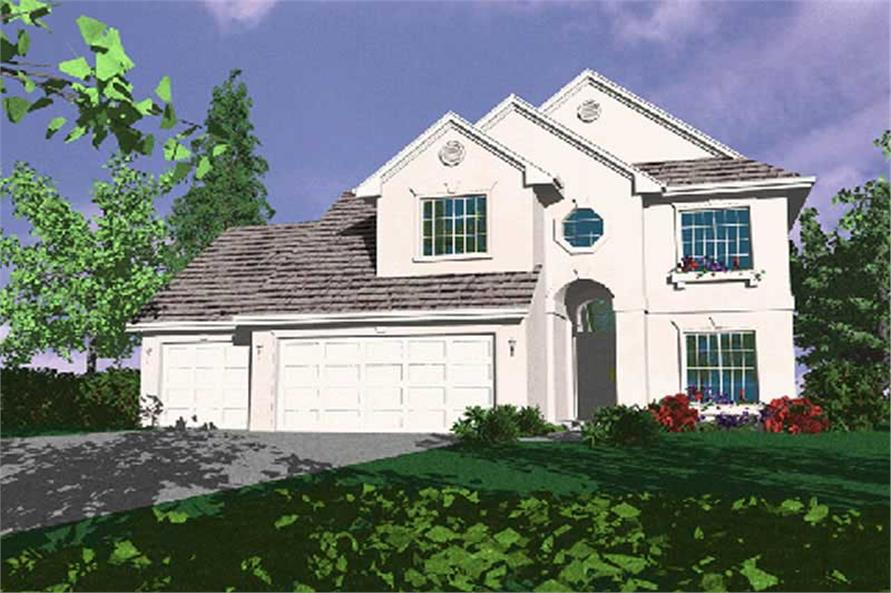 Main image for house plan # 2649