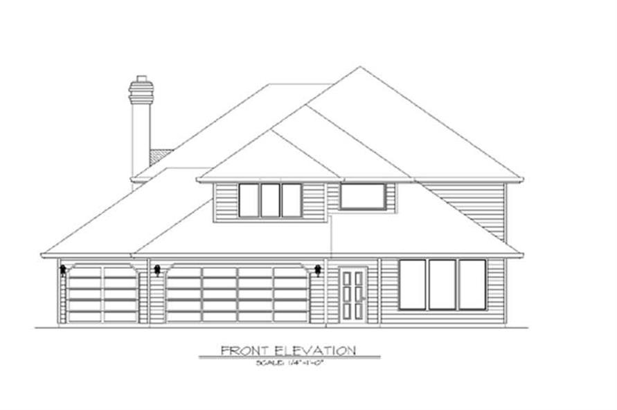 Main image for house plan # 2625
