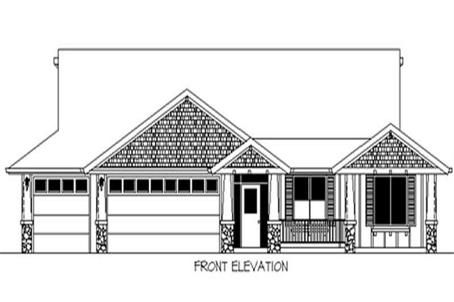 Home Plan Rendering of this 3-Bedroom,2225 Sq Ft Plan -149-1726