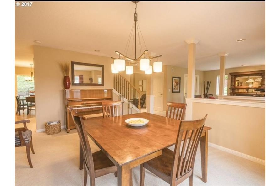 149-1738: Home Interior Photograph-Dining Room