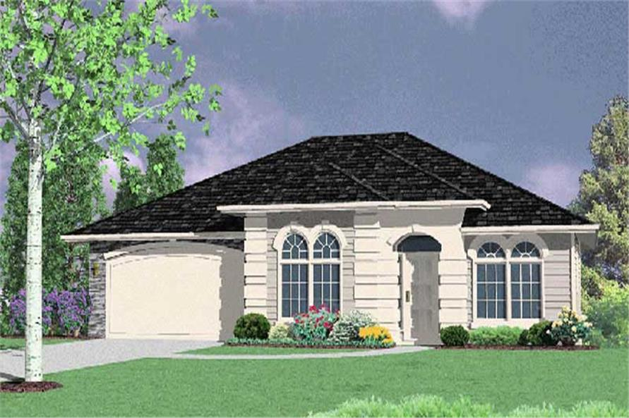 Main image for house plan # 2662