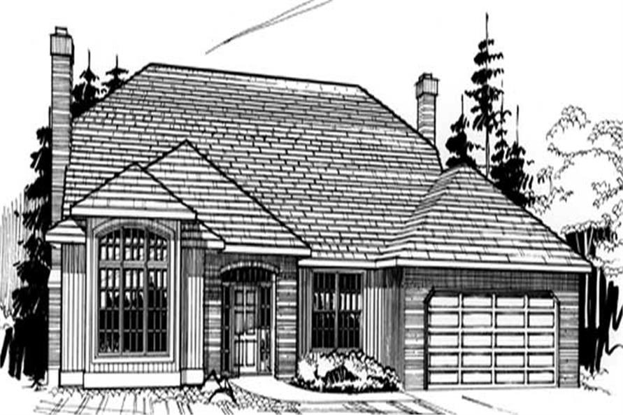 Main image for house plan # 2656