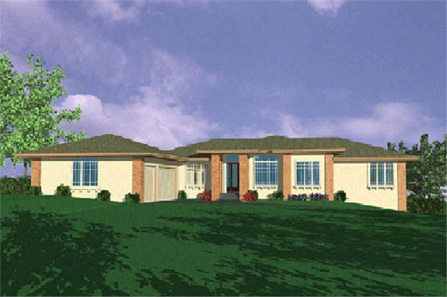 Main image for house plan # 2668