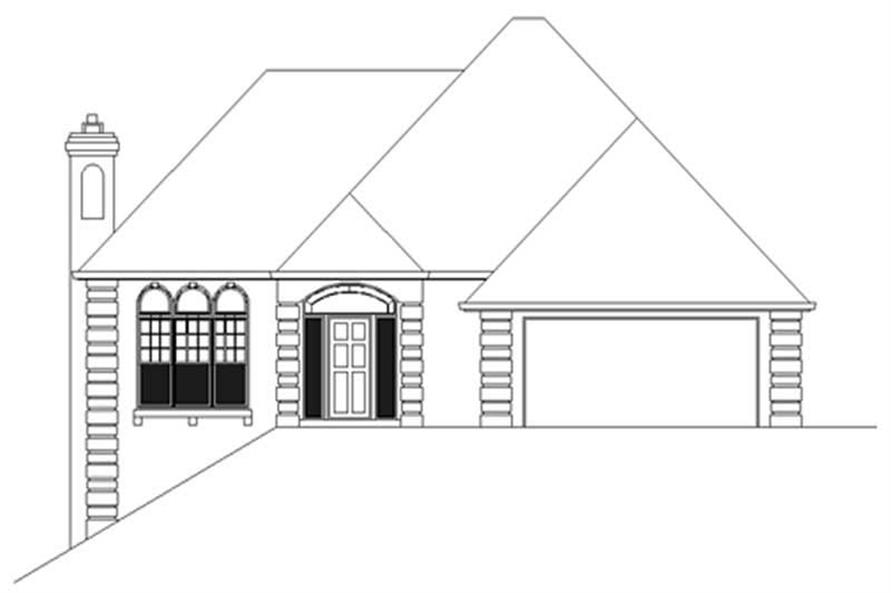 Main image for house plan # 2553