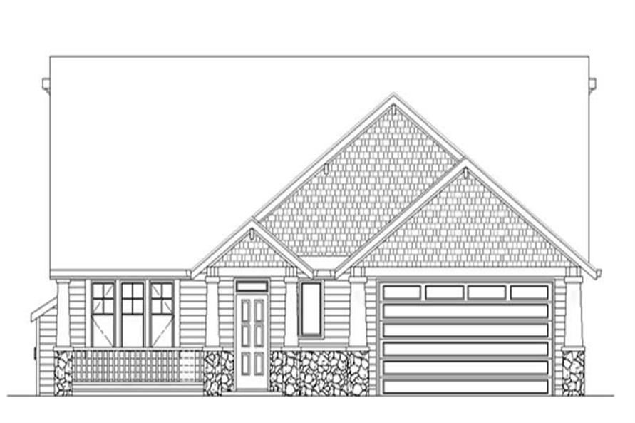 Main image for house plan # 2552