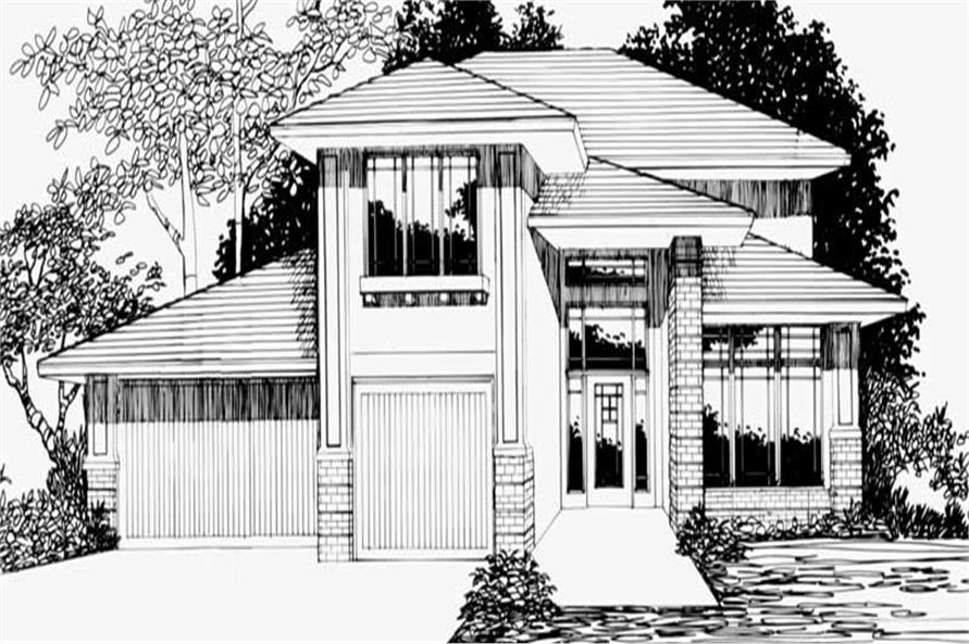 4-Bedroom, 2428 Sq Ft Craftsman Home Plan - 149-1790 - Main Exterior