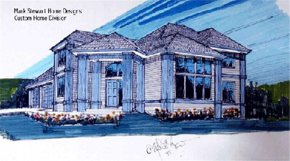 Main image for house plan # 2562