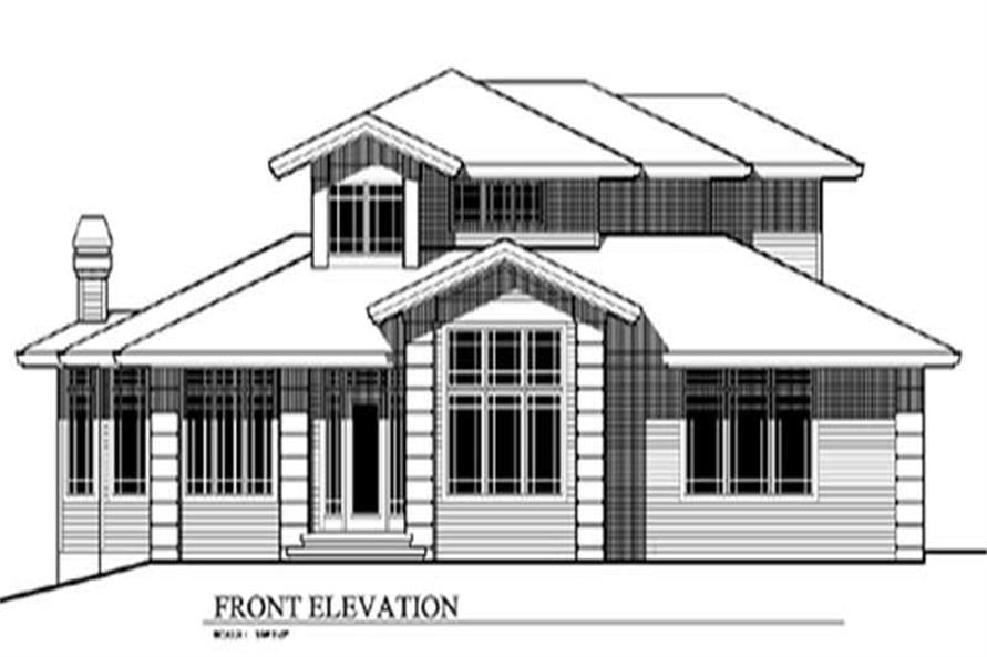 Main image for house plan # 2544
