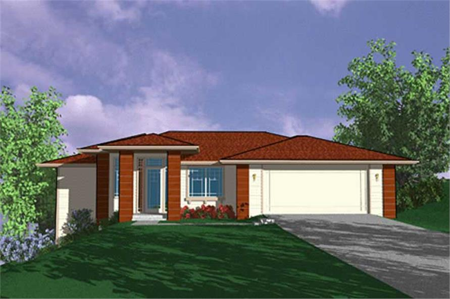 Main image for house plan # 2710