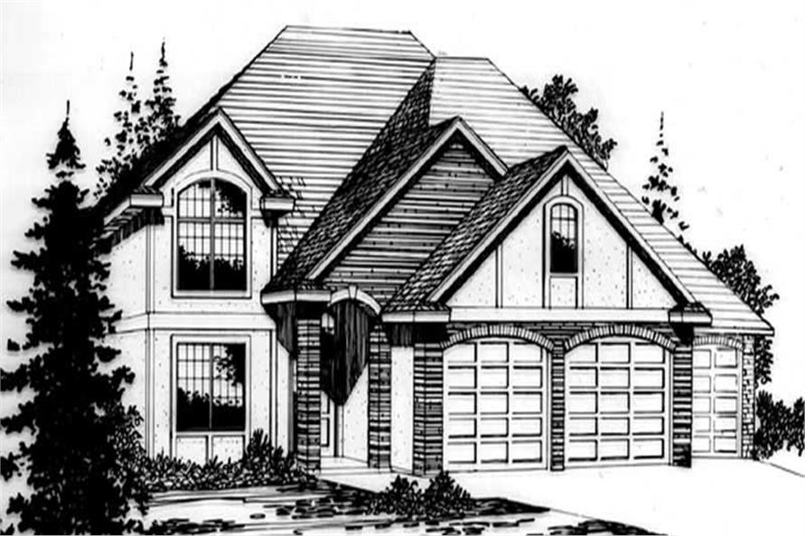 Main image for house plan # 2555