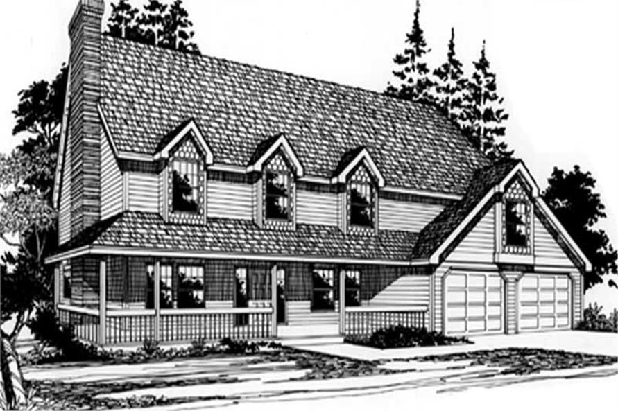 Main image for house plan # 2706