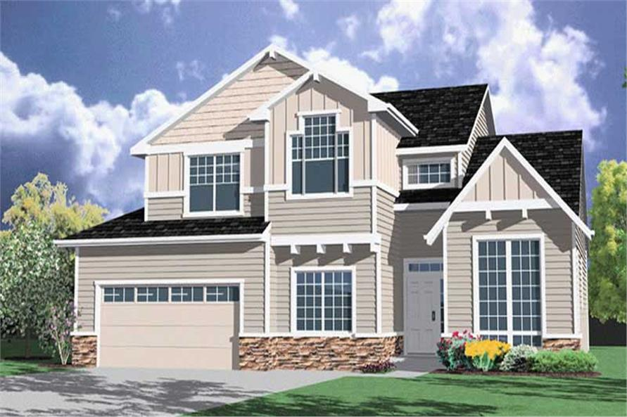 Main image for house plan # 2550