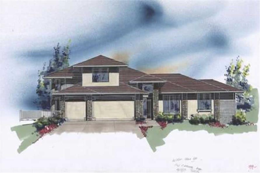 Main image for house plan # 2559