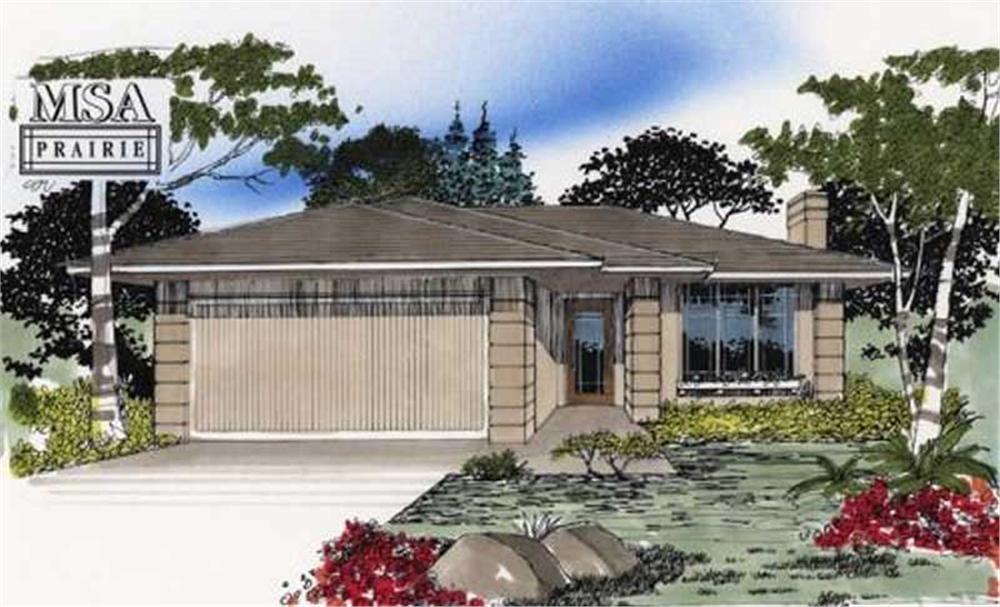 Main image for house plan # 2229