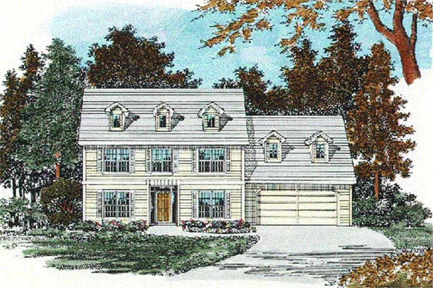 Main image for house plan # 2539