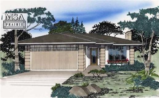 Main image for house plan # 2227