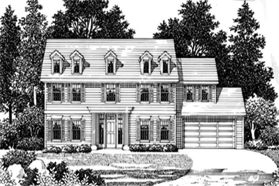 Main image for house plan # 2597