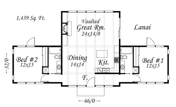 149-1837: Floor Plan Main Level