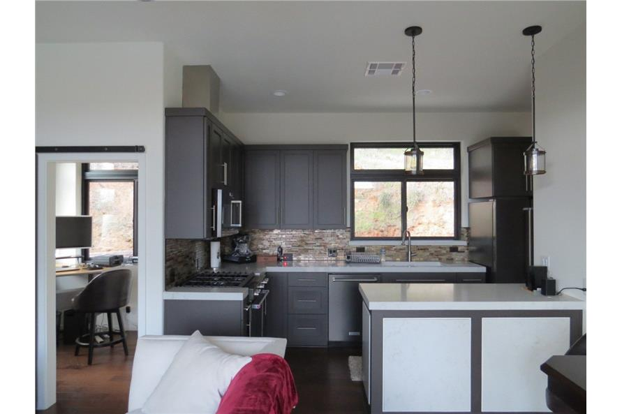 Kitchen of this 2-Bedroom,640 Sq Ft Plan -640