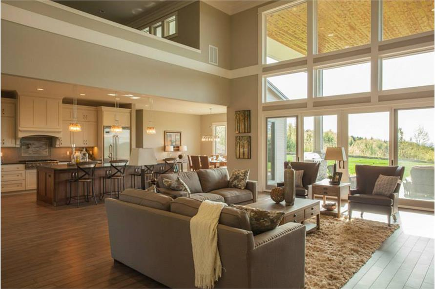 Great Room of this 4-Bedroom,4820 Sq Ft Plan -4820
