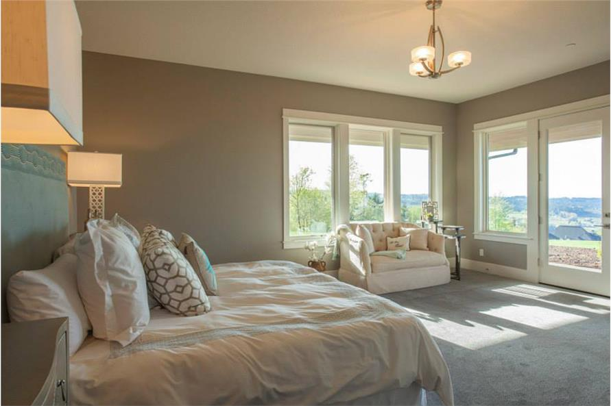 Master Bedroom of this 4-Bedroom,4820 Sq Ft Plan -4820