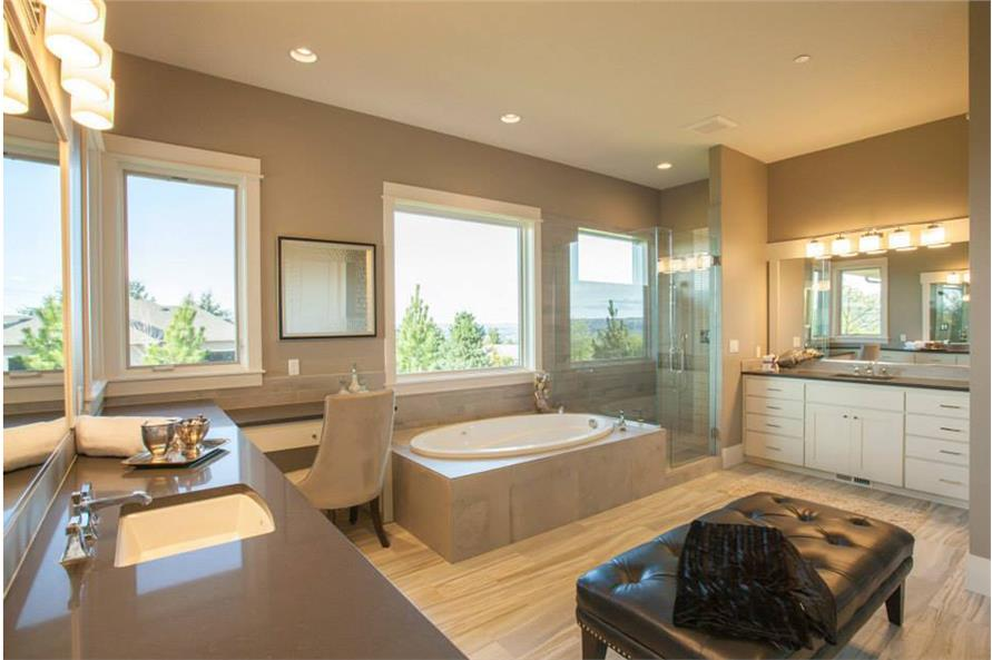 Master Bathroom of this 4-Bedroom,4820 Sq Ft Plan -4820