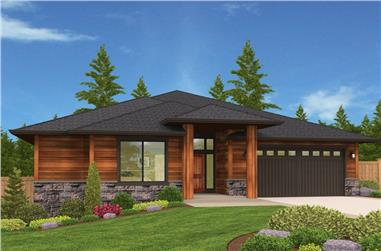 3-Bedroom, 2445 Sq Ft Country Home Plan - 149-1893 - Main Exterior