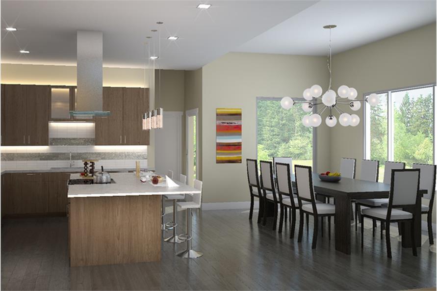 Home Plan Rendering of this 5-Bedroom,4100 Sq Ft Plan -149-1894