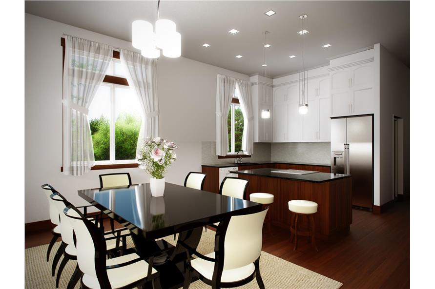 Dining Room of this 3-Bedroom,2685 Sq Ft Plan -2685
