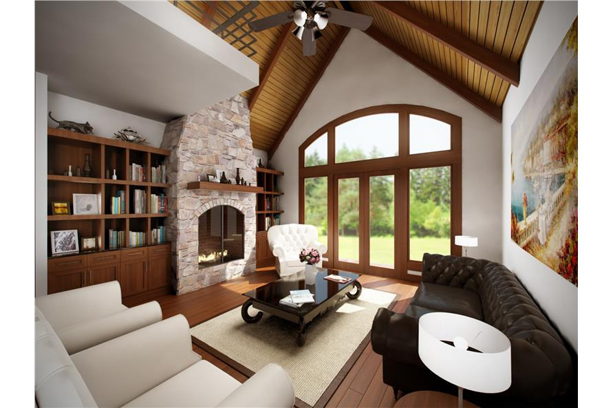 Family Room of this 3-Bedroom,2685 Sq Ft Plan -2685
