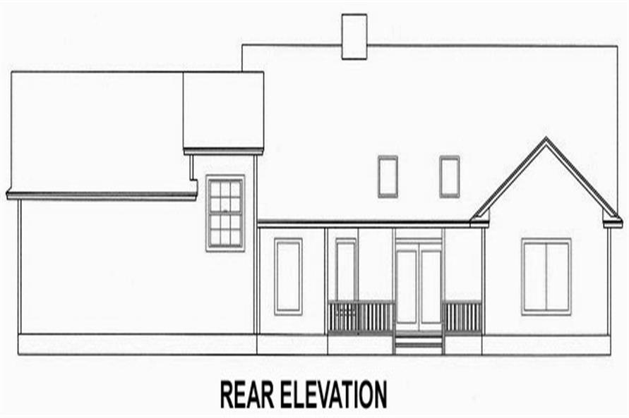 150-1013 rear elevation