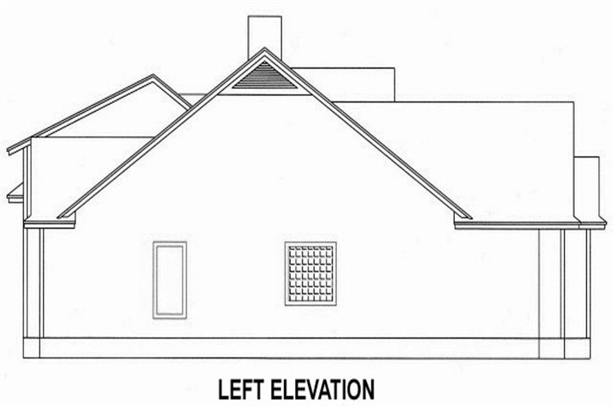 150-1013 left elevation