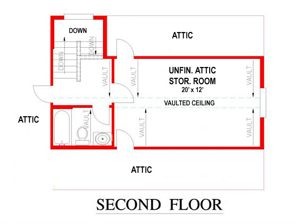 150-1014 bonus second floor