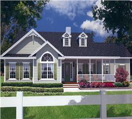 House Plan #150-1014