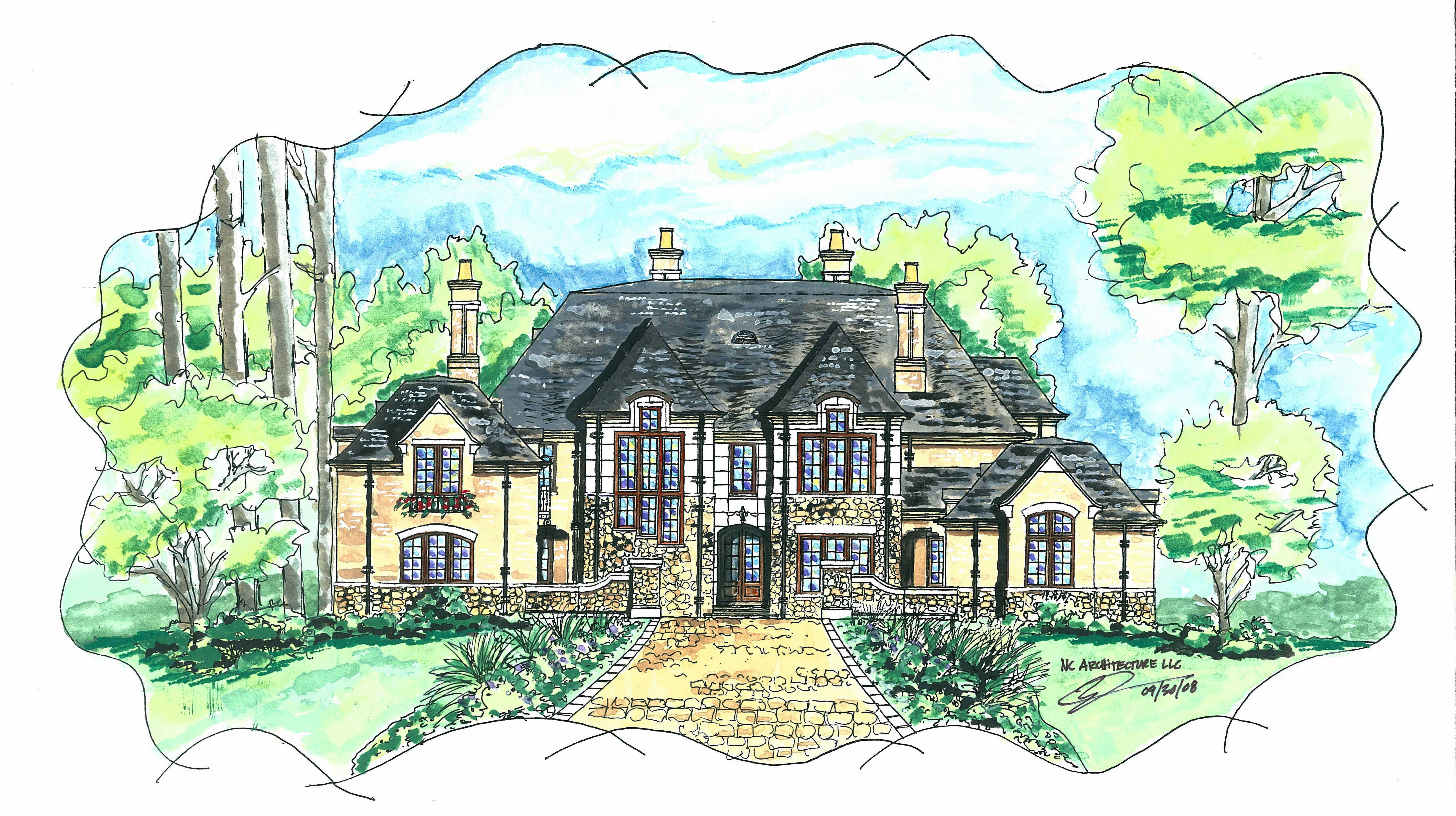 Luxury Home Plans West Paces Home Design - Luxurious home plans