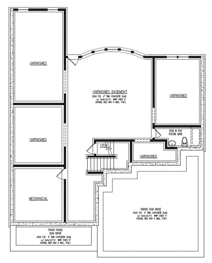 Southwestern house plans home design mission basement floor plan basement malvernweather Choice Image