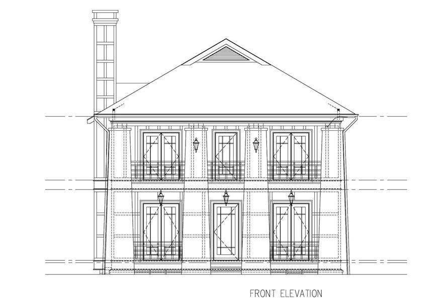 5-Bedroom, 3263 Sq Ft Craftsman House Plan - 152-1011 - Front Exterior