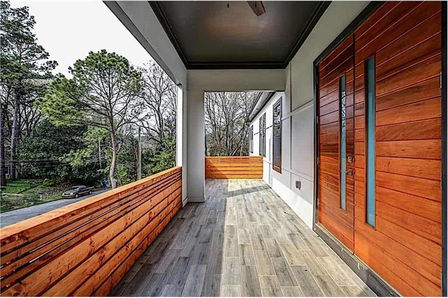 Balcony of this 3-Bedroom,2864 Sq Ft Plan -2864