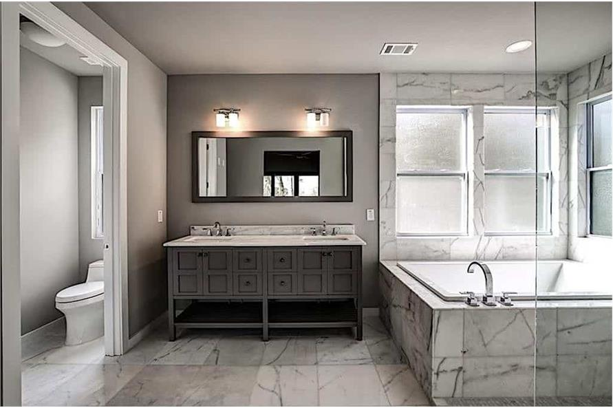 Master Bathroom of this 3-Bedroom,2864 Sq Ft Plan -2864