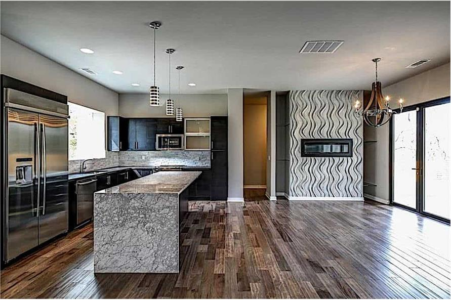 Kitchen of this 3-Bedroom,2864 Sq Ft Plan -2864