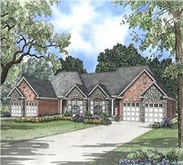 House Plan #153-1000