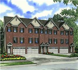 House Plan #153-1002