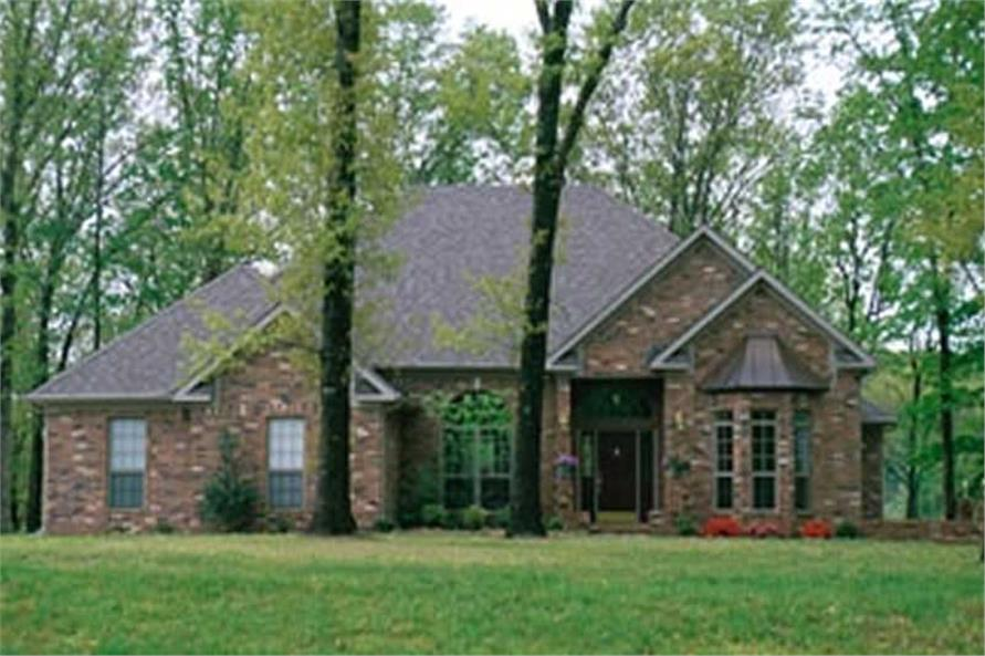Home Plan Rendering of this 3-Bedroom,2444 Sq Ft Plan -153-1004