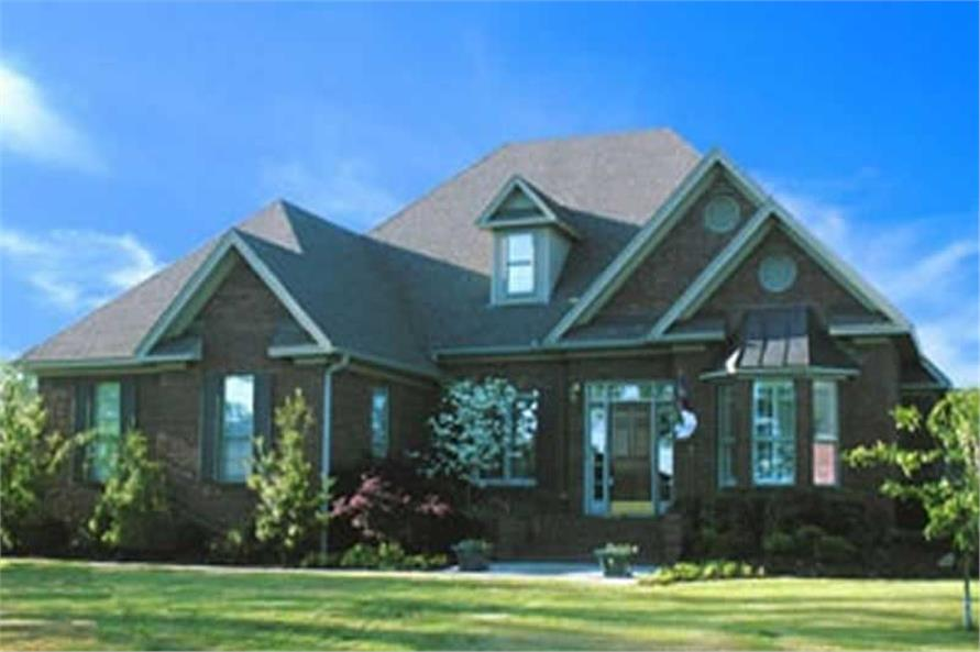 Home Plan Aux Image of this 3-Bedroom,2444 Sq Ft Plan -153-1004