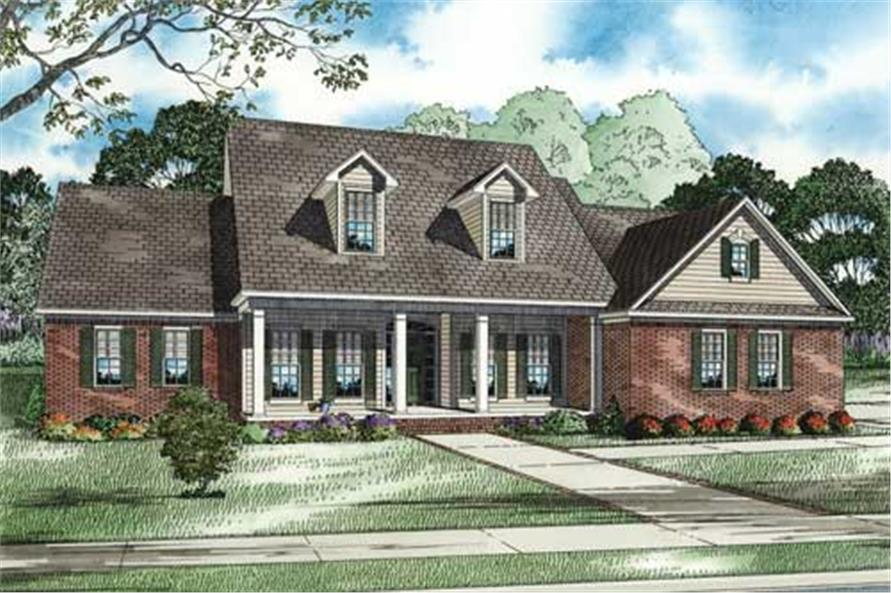 Main image for house plan # 17632