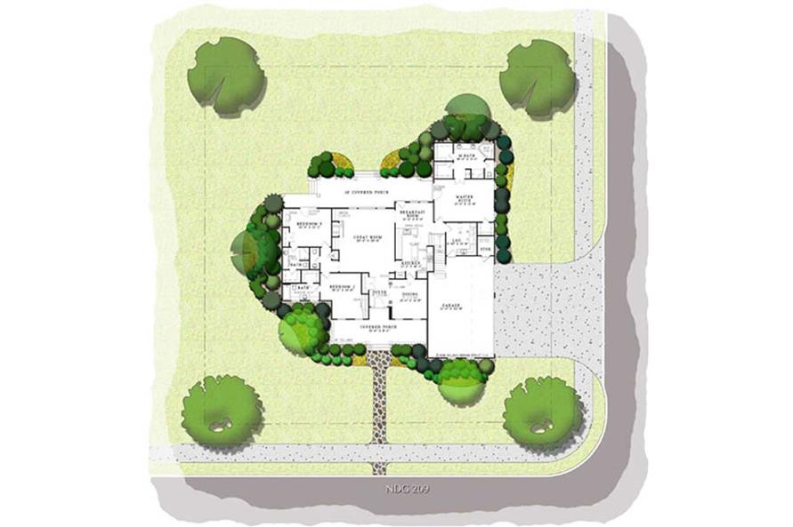 Home Plan Aux Image of this 3-Bedroom,2755 Sq Ft Plan -153-1011