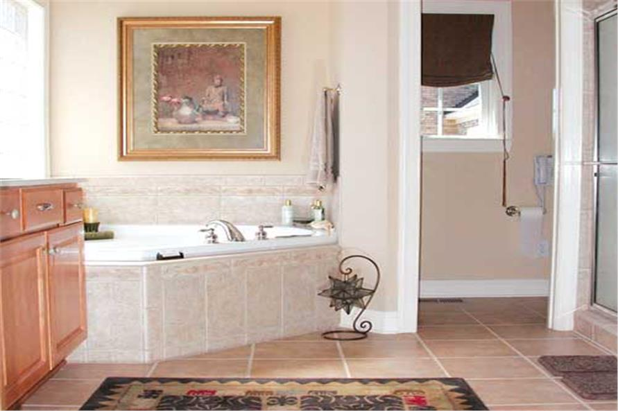 Master Bathroom of this 3-Bedroom,2755 Sq Ft Plan -2755