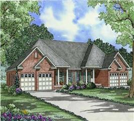 House Plan #153-1014