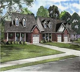 House Plan #153-1015
